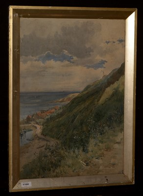 Lot 596-Frank Watson Wood watercolour