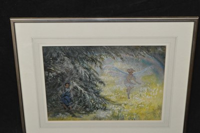 Lot 595-20th Century British School gouache