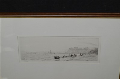 Lot 544-William Lionel Wyllie etching
