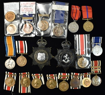 Lot 1519-Constabulary medals