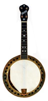 Lot 95 - New Concert banjo Ukulele
