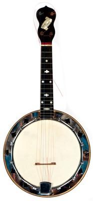 Lot 96 - George Formby E/1199 Ukulele Banjo