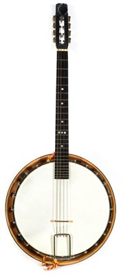 Lot 97 - Will Van Allen 8 string tenor banjo
