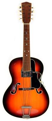Lot 99 - Arnold Hoyer Guitar shaped Mandolin