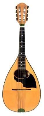Lot 100 - Luigi Embergher Bowl back mandolin