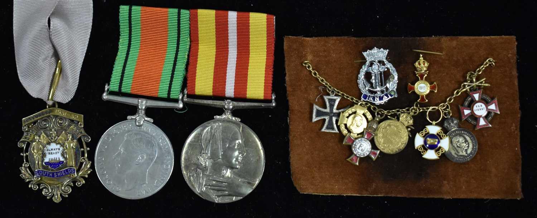 Lot 1504-The Medals of Lady Hélene Paris Chapman