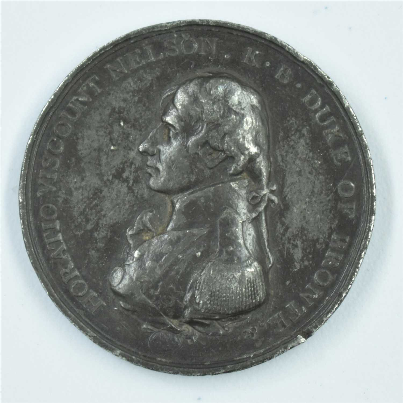 Lot 1551-Boulton's Trafalgar Medal