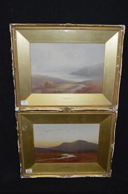 Lot 56-Charles Edward Brittan watercolours