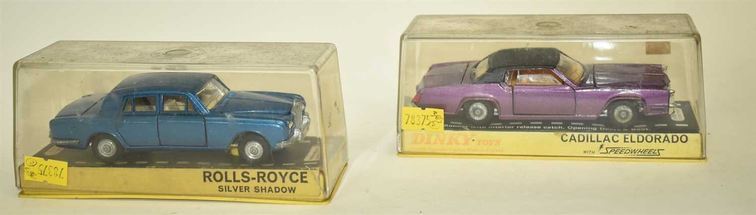 Lot 180-Two Dinky cars