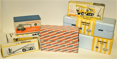 Lot 191 - Diecast industrial vehicles