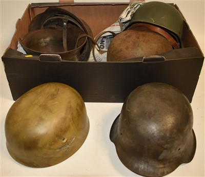 Lot 2-German helmets