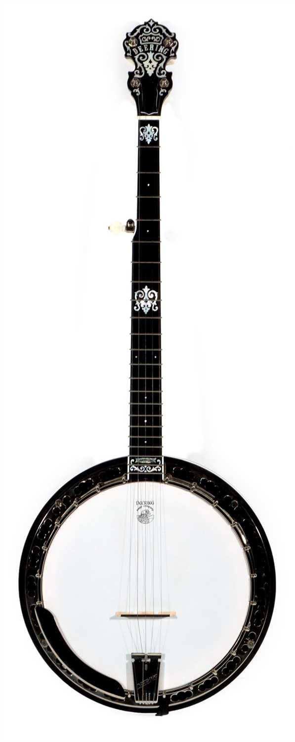 Lot 105-Deering John Hartford G five string banjo