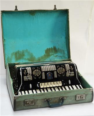 Lot 71 - An Orfeo accordion.