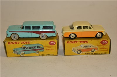 Lot 205-Two Dinky toys