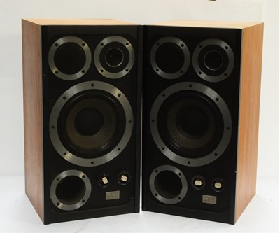 Lot 57 - A pair of Wharfedale E Fifty floor standing speakers.