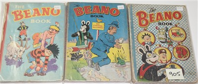 Lot 905-The Beano Books