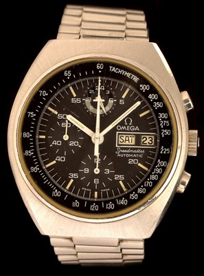 Lot 15-Omega Speedmaster Automatic gent's chronograph wristwatch.