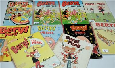 Lot 907A-Beryl The Peril Annuals