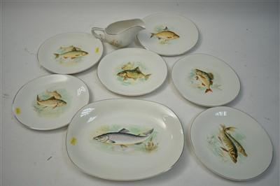 Lot 231A - Wedgwood fish plates
