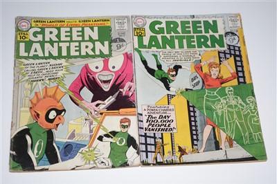 Lot 1414 - Green Lantern Comics