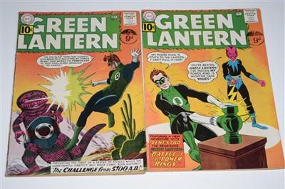 Lot 1415 - Green Lantern Comics