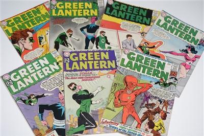 Lot 1417 - Green Lantern Comics