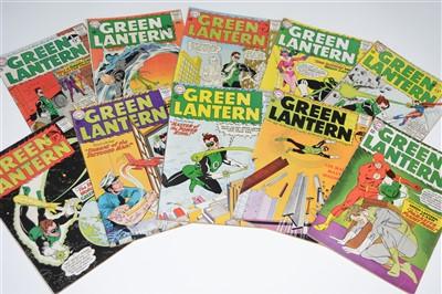 Lot 1418 - Green Lantern Comics