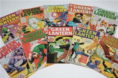 Lot 1419 - Green Lantern Comics