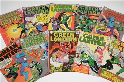 Lot 1420 - Green Lantern Comics