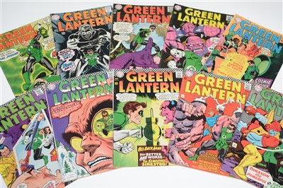 Lot 1421 - Green Lantern Comics