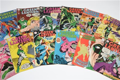 Lot 1422 - Green Lantern Comics