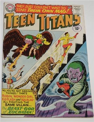 Lot 1426 - Teen Titans No.1 Comic