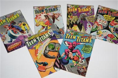 Lot 1428 - Teen Titans Comics