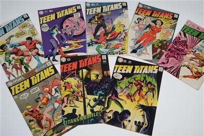Lot 1430 - Teen Titans Comics