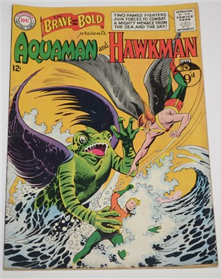 Lot 1439 - The Brave and The Bold Presents Aquaman and Hawkman  Comic