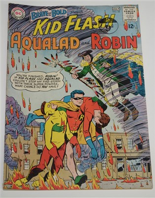 Lot 1440 - The Brave and The Bold Presents Kid Flash, Aqualad and Robin Comic