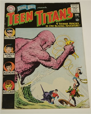 Lot 1442 - The Brave and The Bold Presents Teen Titans Comic