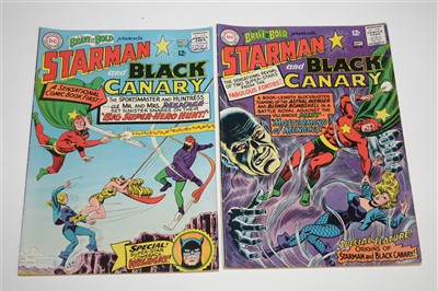 Lot 1443 - The Brave and The Bold Presents Starman and Black Canary Comics