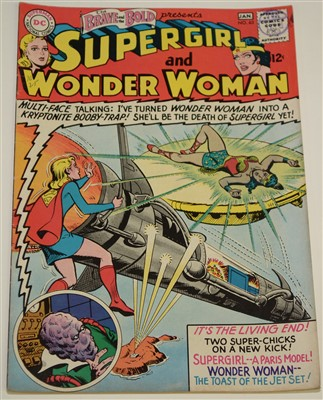 Lot 1444 - The Brave and The Bold Presents Supergirl and Wonder Woman Comic