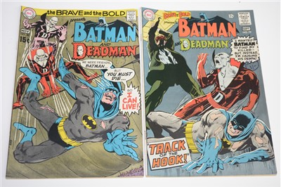 Lot 1449 - The Brave and The Bold Presents Batman and Deadman Comics