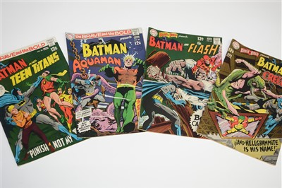 Lot 1450 - The Brave and The Bold Comics