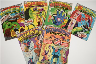 Lot 1463 - Metamorpho Comics
