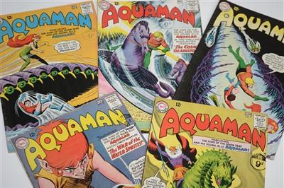 Lot 1490 - Aquaman Comics