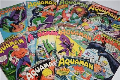 Lot 1493 - Aquaman Comics