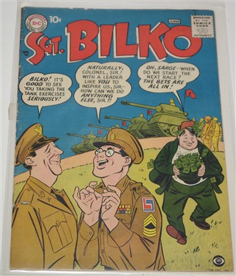 Lot 1624 - D.C. Comics Sgt. Bilko No.1