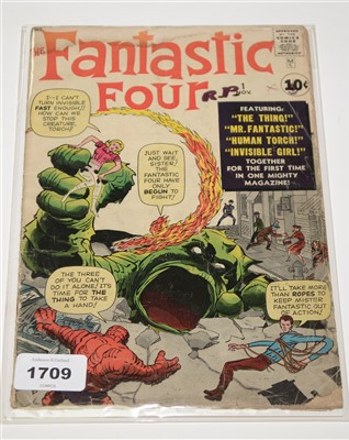 Lot 1709 - The Fantastic Four No.1 Comic