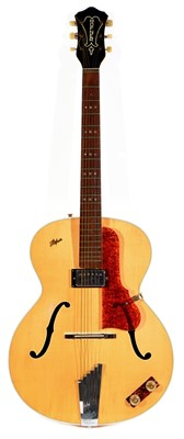 Lot 53 - 1958 Hofner Senator archtop guitar