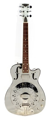 Lot 157 - Amistar Stager Electro-Resonator Guitar