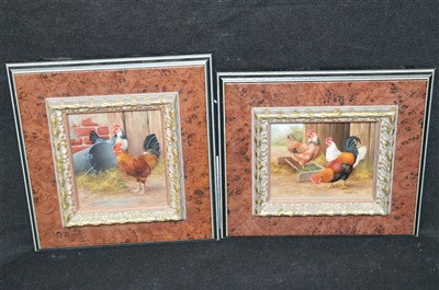 Lot 96-Carl Whitfield oil paintings