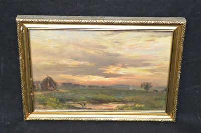 Lot 100-William Kay Blacklock oil painting